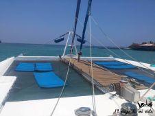 Catamarán en Galápagos