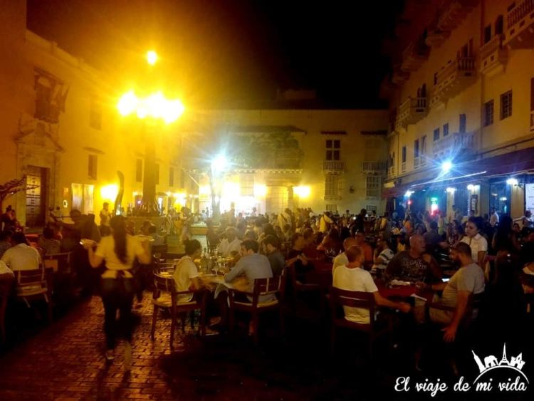 Fiesta en Cartagena