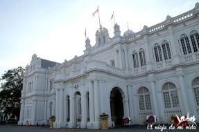 Ayuntamiento de George Town en Penang, Malasia