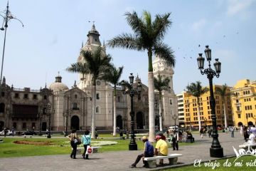 La plaza de Armas de Lima