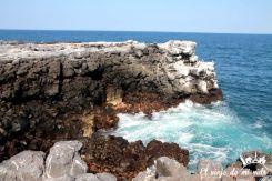 Los alcantilados de Plazas Sur, Galápagos