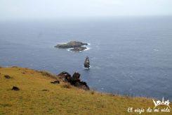 Las islas en las que se realizaban la competición del hombre pájaro