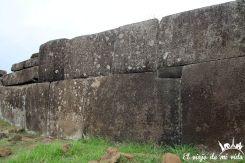 Los ahu con construcciones que recuerdan los incas en la Isla de Pascua
