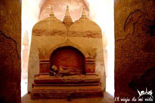 Rincones escondidos del templo Dhammayan Gyi, Bagan, Myanmar
