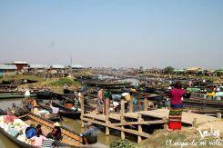 El mercado Nyaung Shwe