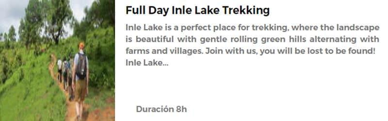 Trekking en el Lago Inle