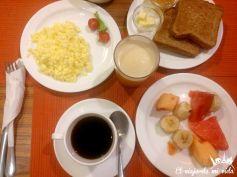 Riquísimos desayunos en el Hostal Boutique El Manso en Guayaquil