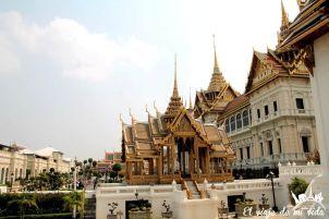 El gran palacio de Bangkok, Tailandia