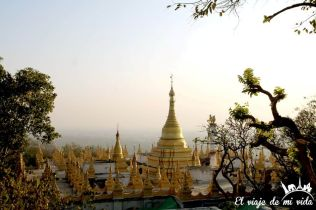 Vistas desde Mandalay Hill
