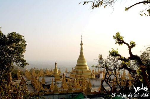 Vistas desde Mandalay Hill