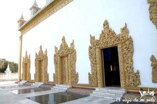 El templo de Shwenandaw, Mandalay, Myanmar