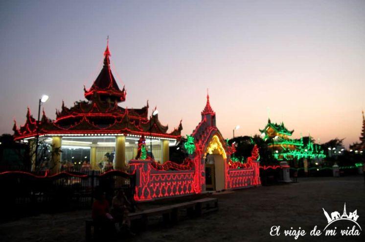Noche de Mandalay, Myanmar