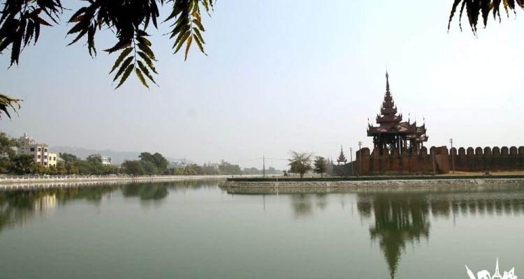 Palacio Mandalay, Myanmar