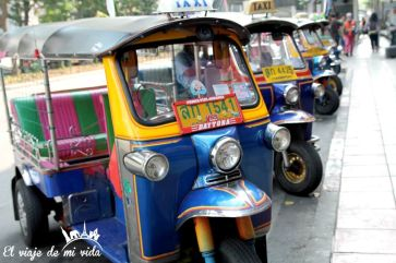 El Rickshaw para turistas