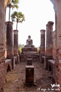 Las ruinas de Inwa, Myanmar