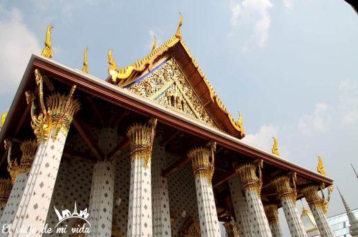 Templo del amanecer de Bangkok, Tailandia