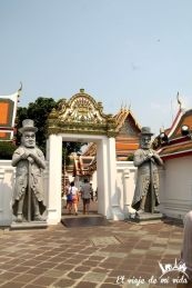 El curioso recinto del templo Wat Pho