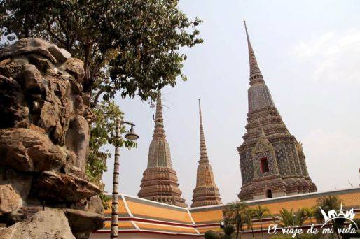 Templo del Buda Reclinado en Bangkok