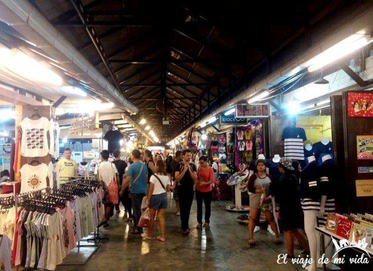 El Night Market de Hua Hin, Tailandia