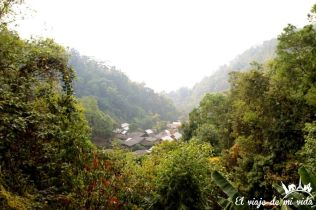 El encantador pueblo de Mae Kam Pong, Chiang Mai, Tailandia