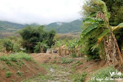 Pueblo Karen de Chiang Rai, Tailandia