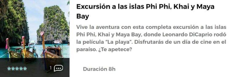 Excursión a la isla Phi Phi