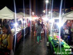 El Night Market de Krabi