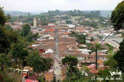 Vistas desde el Mirador de Salento, Colombia