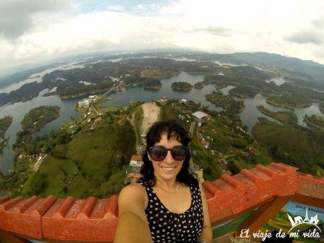 Peñol de Guatapé en Colombia