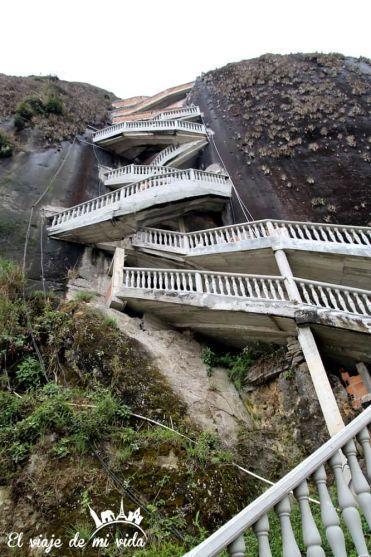 Escalera de la Piedra en Guatapé, Colombia