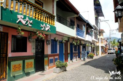 El colorido Guatapé, Colombia