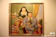 La familia colombiana según Botero, Medellín, Colombia