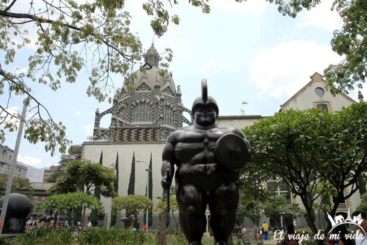 Plaza Botero de Medellín, Colombia