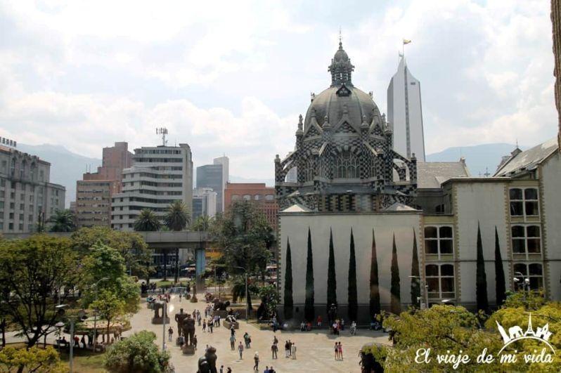 Plaza Botero en Medellín, Colombia