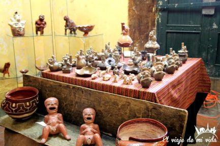 Artesanía local en Quito, Ecuador