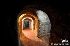 Túneles subterráneos del castillo