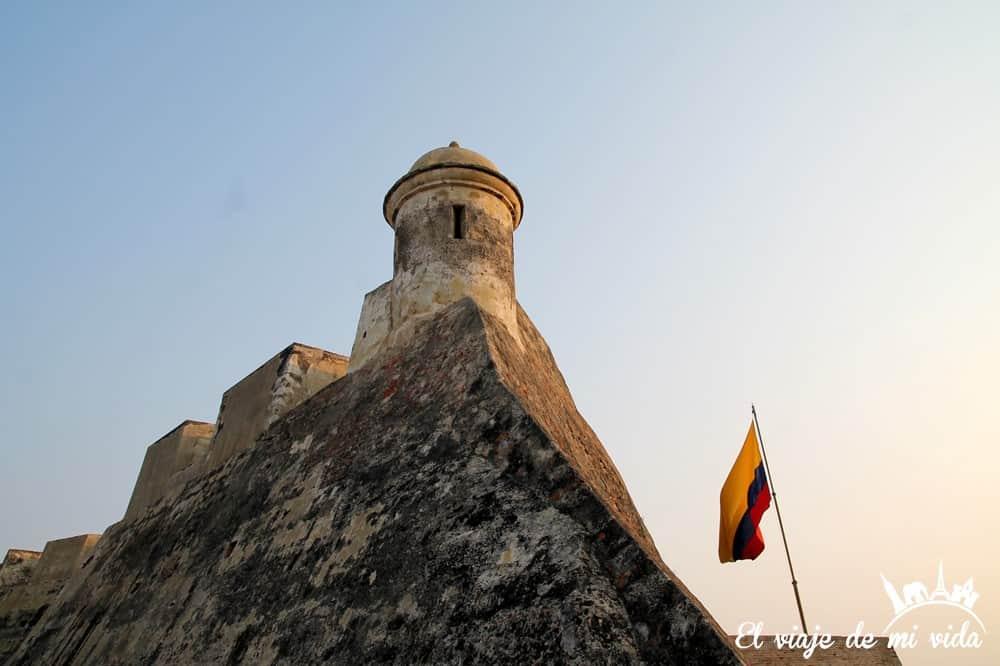 El Castillo San Felipe de Barajas, Cartagena, Colombia