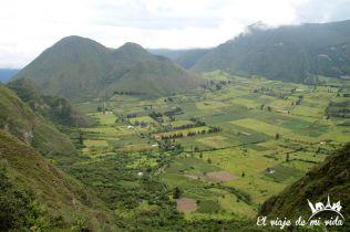 Mirador de Pululahua a las afueras de Quito, Ecuador