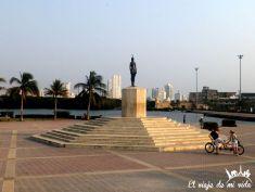 Monumento a la India Catalina, Cartagena, Colombia
