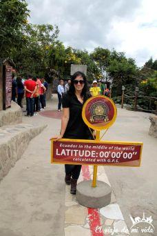 La Mitad del Mundo, Ecuador, Quito