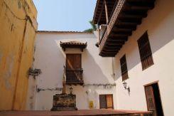 Interior del Palacio de la Inquisición, Cartagena de Indias, Colombia