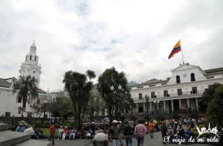 La Plaza de la Independencia, Quito, Ecuador