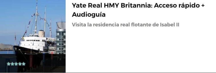 Yate Real HMY Britannia