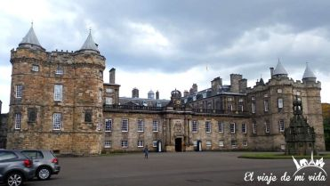 El Palacio de Holyrood house