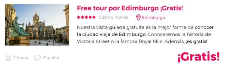 Free tour por Edimburgo