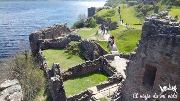 El Castillo de Urquhart en Escocia