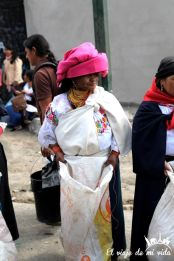 Mercado indígena, Otavalo, Ecuador