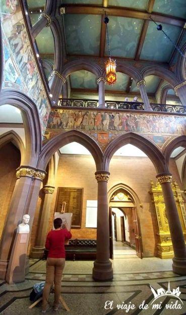 Museo de los Retratos en Edimburgo