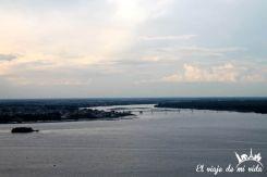 La Isla de Santay desde las Peñas