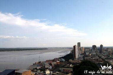 Vistas al río Guayas, Guayaquil, Ecuador